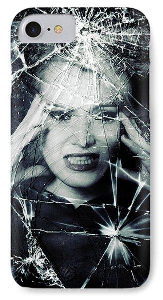 Broken Window Phone Case by Joana Kruse