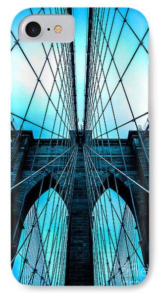 Brooklyn Blues IPhone Case by Az Jackson