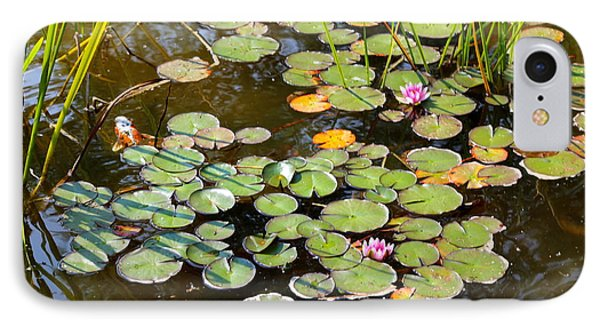 Bruges Lily Pond Phone Case by Carol Groenen
