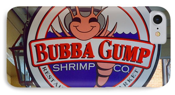 Bubba Gump Shrimp Sign Phone Case by Alys Caviness-Gober
