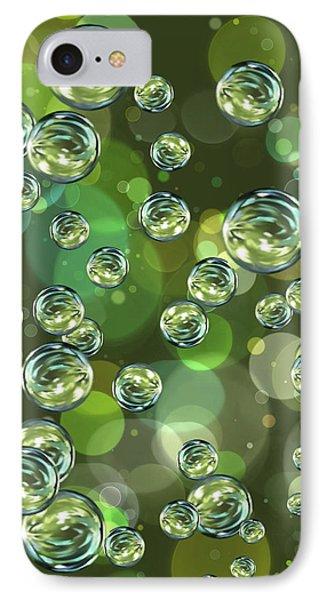 Bubbles IPhone Case by Veronica Minozzi