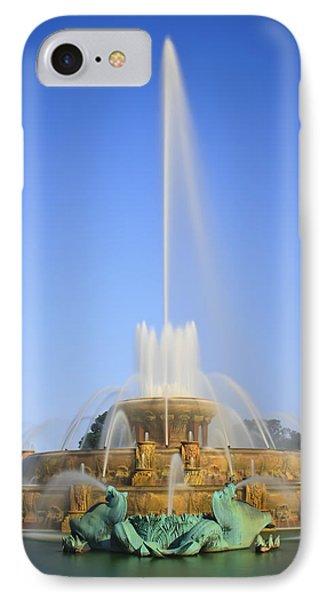Buckingham Fountain IPhone Case by Adam Romanowicz