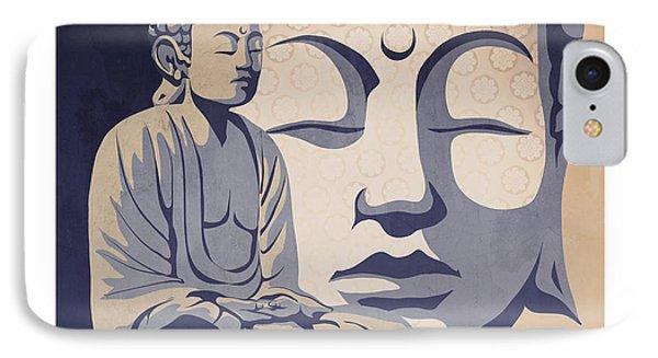 Buddha IPhone Case by Sassan Filsoof