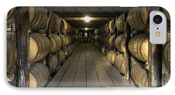 Buffalo Trace Rick House - D008610sq IPhone Case by Daniel Dempster