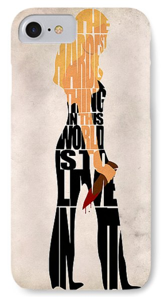 Buffy The Vampire Slayer IPhone Case by Ayse Deniz