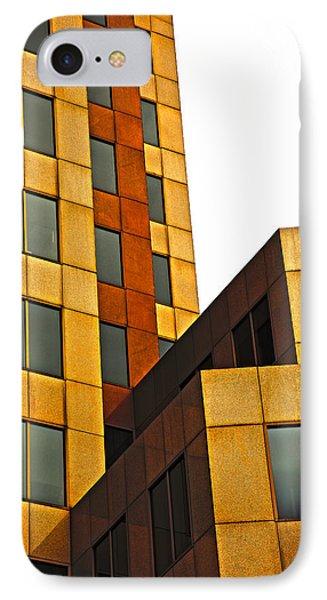 Building Blocks Phone Case by Karol Livote