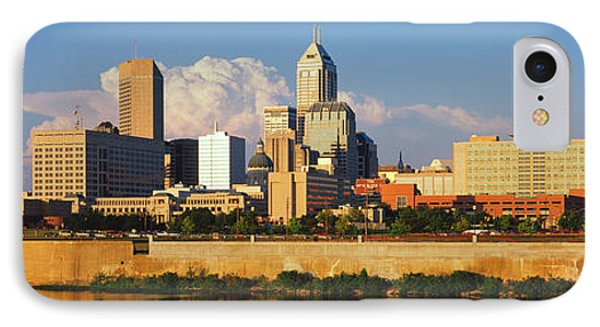 Buildings At The Waterfront, White IPhone Case by Panoramic Images