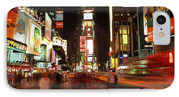 Buildings In A City, Broadway, Times IPhone Case by Panoramic Images