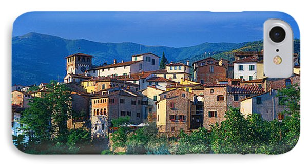 Buildings In A Town, Loro Ciuffenna IPhone Case by Panoramic Images