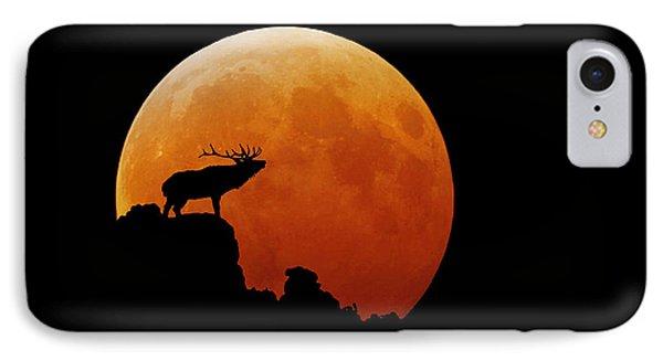 Bull Elk Phone Case by Stuart Harrison