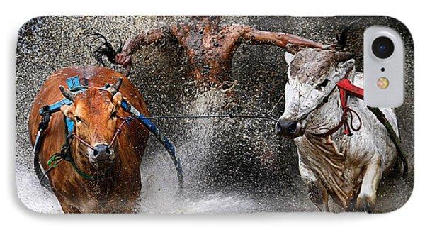 Bull Race IPhone Case by Wei Seng Chen
