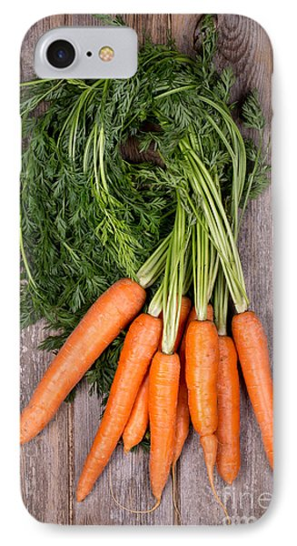 Bunched Carrots IPhone Case by Jane Rix
