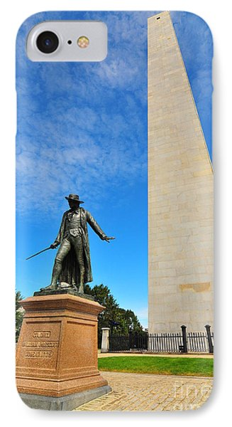 Bunker Hill Monument Phone Case by Catherine Reusch  Daley