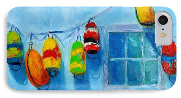 Painted Buoys And Boat Floats  IPhone Case by Patricia Awapara