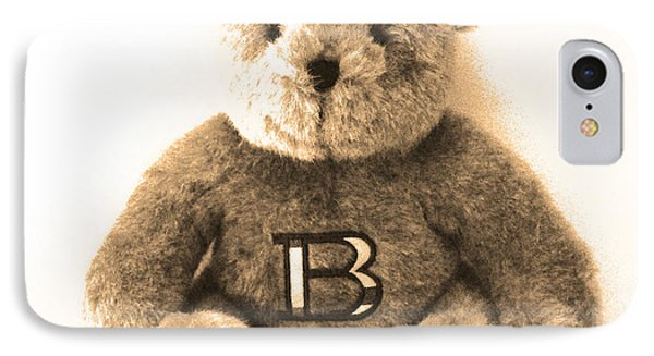 Burberry Bear IPhone Case by Gina Dsgn