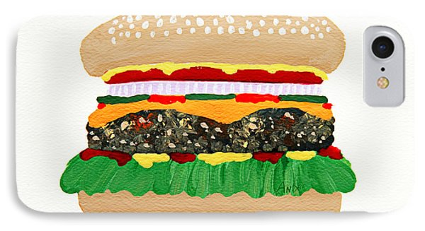 Burger Me Phone Case by Andee Design