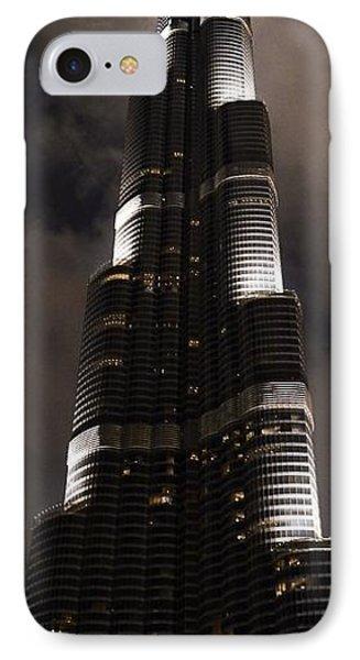 Burj Khalifa Phone Case by Corinne Rhode