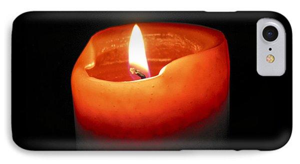 Burning Candle IPhone Case by Elena Elisseeva