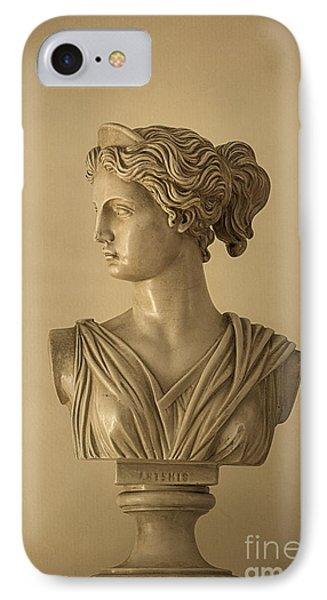 Bust Of Artemis IPhone Case by Diane Diederich