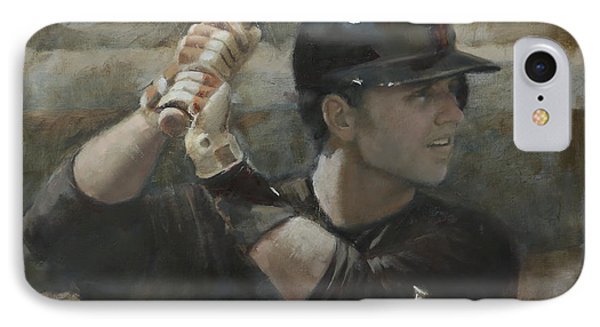 Buster Training IPhone Case by Darren Kerr