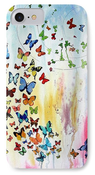 Butterflies Phone Case by Tom Riggs