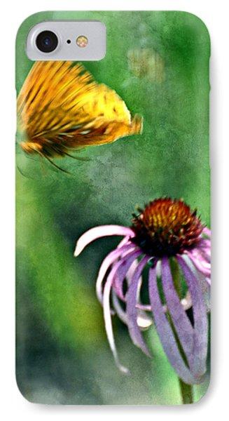 Butterfly In Flight Phone Case by Marty Koch