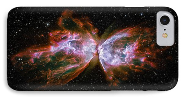Butterfly Nebula Ngc6302 IPhone Case by Adam Romanowicz