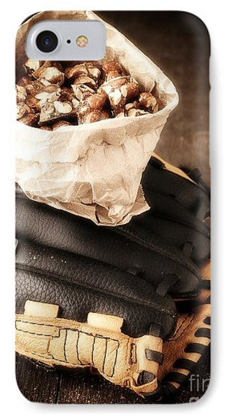 Buy Me Some Peanuts And Cracker Jack Phone Case by Edward Fielding