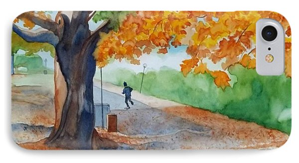 By The Rideau Canal Phone Case by Lise PICHE