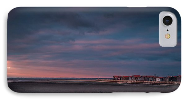 IPhone Case featuring the photograph Cabanes by Thierry Bouriat