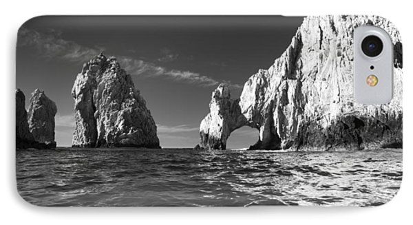 Cabo In Black And White IPhone Case by Sebastian Musial