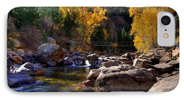 Cache La Poudre Autumn.h IPhone Case by Sam Sherman