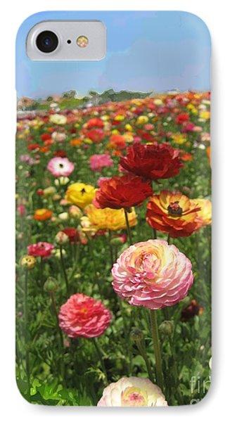 California Flowers IPhone Case by Robert Wek