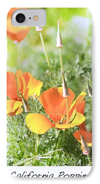 California Poppies Phone Case by Artist and Photographer Laura Wrede