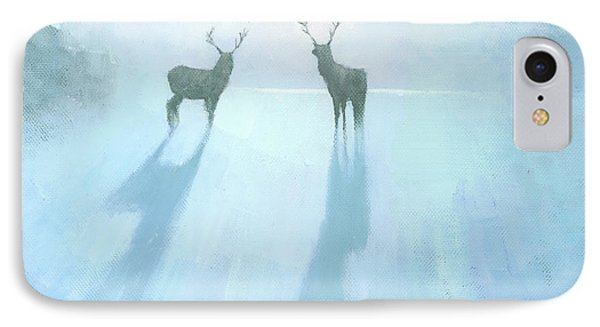 Call Of The Arctic IPhone Case by Steve Mitchell