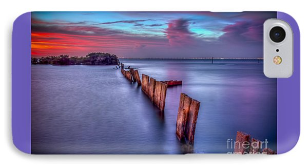 Calm Before The Storm IPhone Case by Marvin Spates