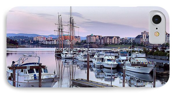 Calm In The Harbour Phone Case by Jenny Hudson