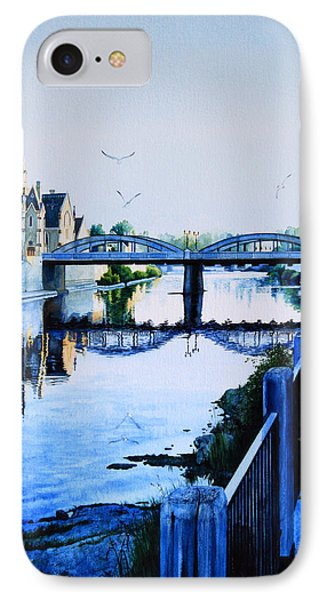 Cambridge Summer Morning IPhone Case by Hanne Lore Koehler