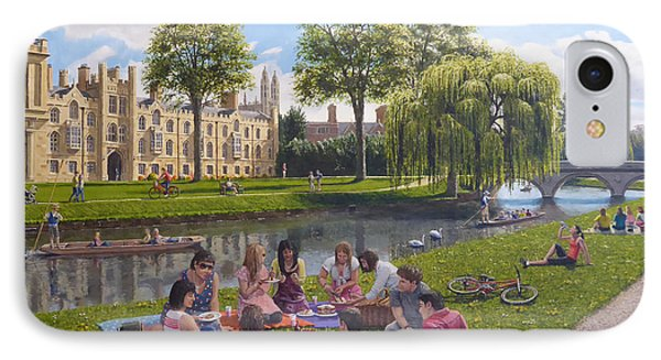 Cambridge Summer IPhone Case by Richard Harpum