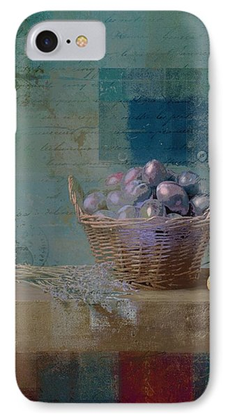 Campagnard - Rustic Still Life - J085079161f Phone Case by Variance Collections