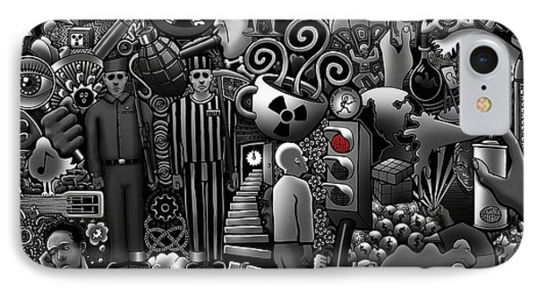 Can 'o' Worms IPhone Case by Matthew Ridgway