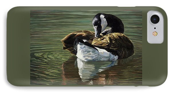 Canadian Goose IPhone Case by Lucie Bilodeau