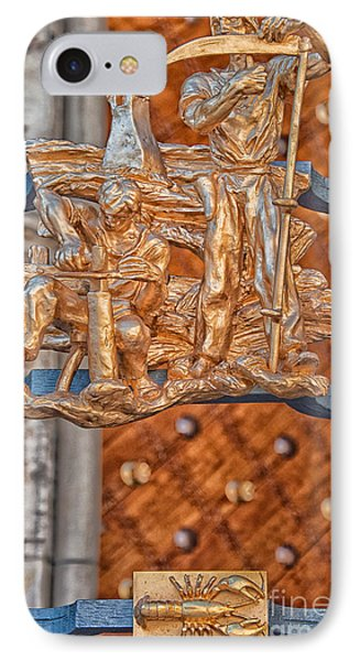 Cancer Zodiac Sign - St Vitus Cathedral - Prague IPhone Case by Ian Monk