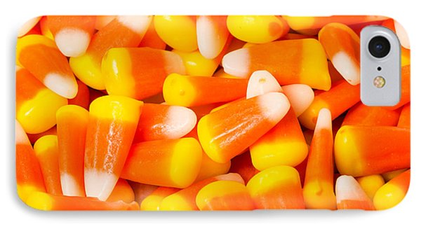 Candy Corn  IPhone Case by John Trax