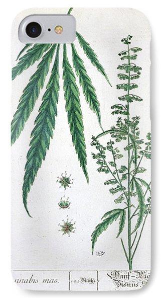 Cannabis Phone Case by Elizabeth Blackwell