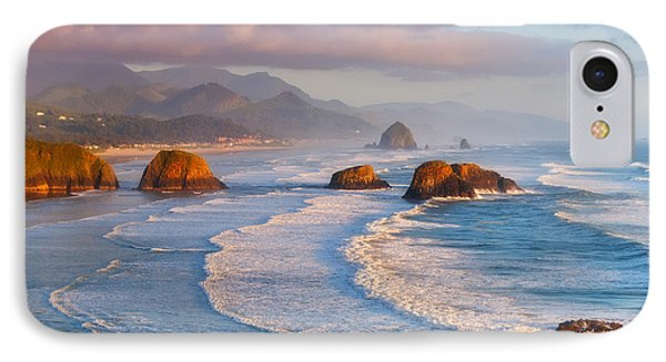 Cannon Beach Sunset IPhone Case by Darren  White