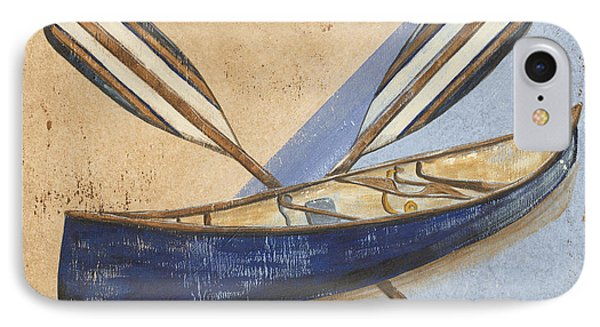 Canoe Rentals IPhone Case by Debbie DeWitt
