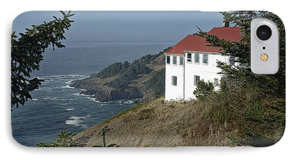 Cape Foulweather Lookout IPhone Case by Betty Depee