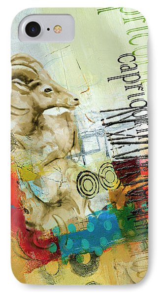 Capricorn Star IPhone Case by Corporate Art Task Force