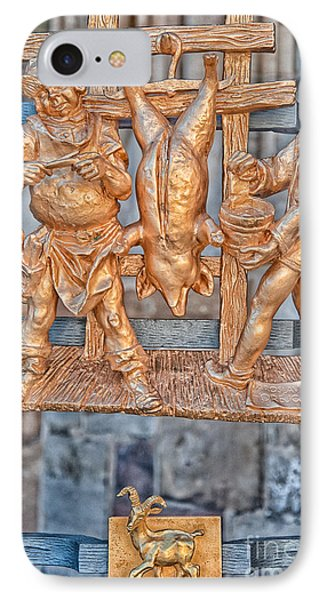 Capricorn Zodiac Sign - St Vitus Cathedral - Prague IPhone Case by Ian Monk